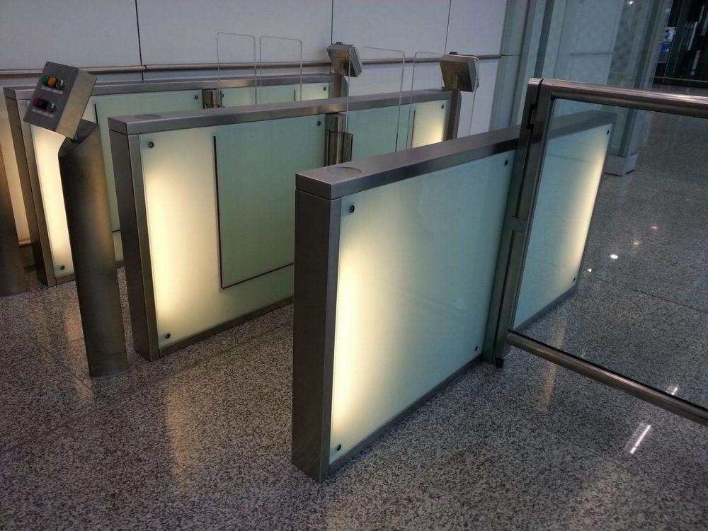 HKIA Staff entrance_Kaba Security Gate